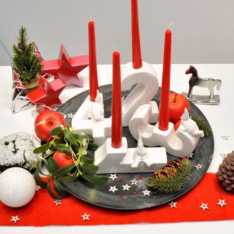 tischdeko weihnachts schnappchen