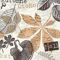 Serviette Autumn collage 20er Pack