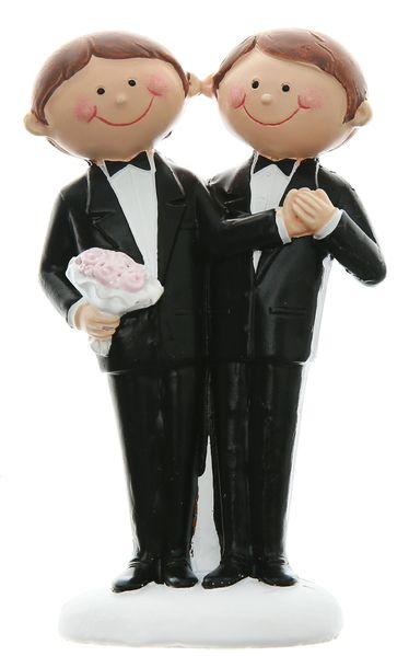 Figur Mr. & Mr. Hochzeit 5,5,x 10cm