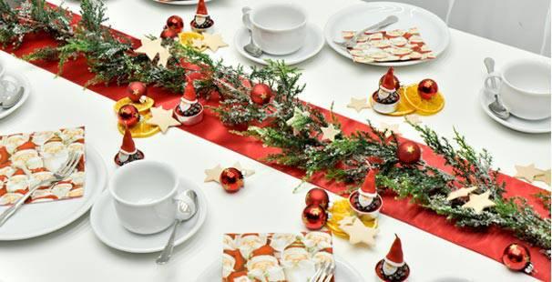 Tischdekoration Funny Santa Kaufen Tischdeko Shop
