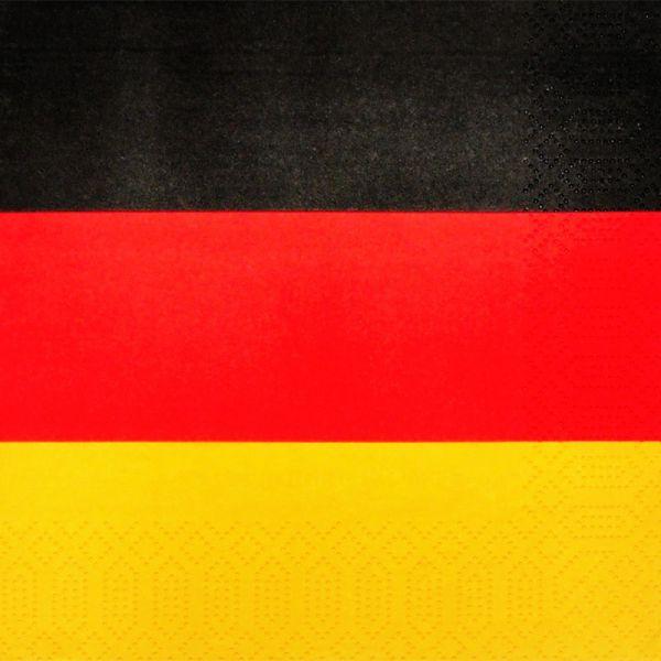 Serviette Germany 33x33cm 20er Pack