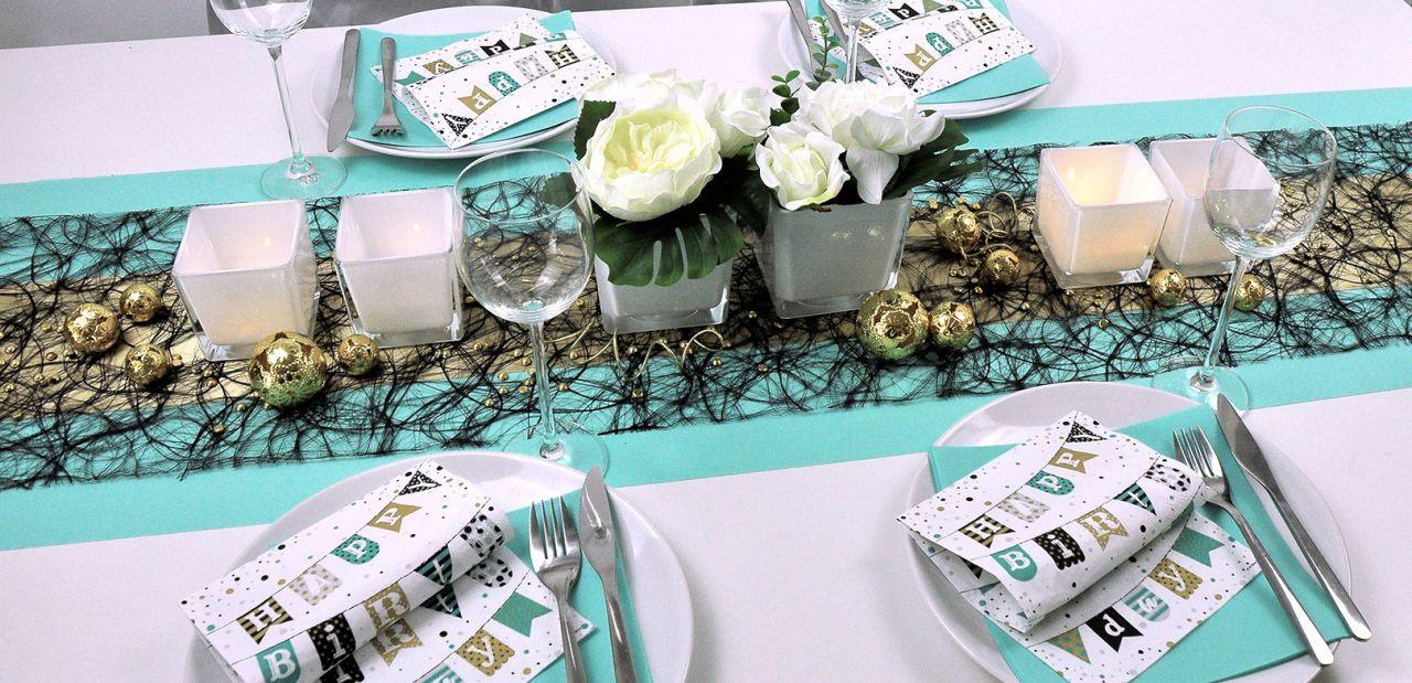 Tischdeko Ideen Fur Die Tischdekoration Zum Geburtstag