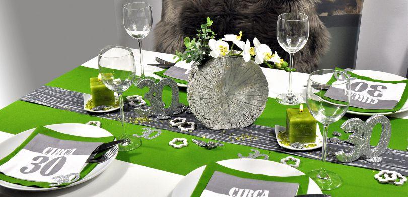 Tischdeko Zum 30 Geburtstag Circa 30