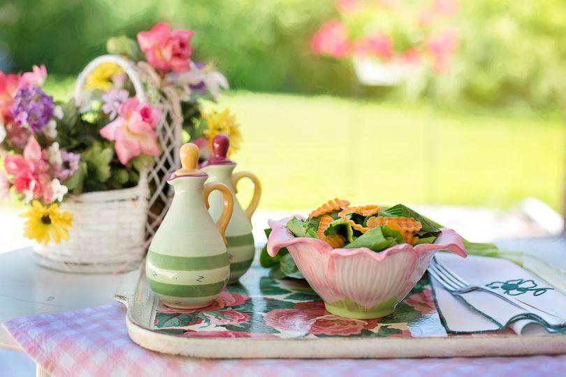 Tischdekoration In Der Farbe Pastell Kaufen
