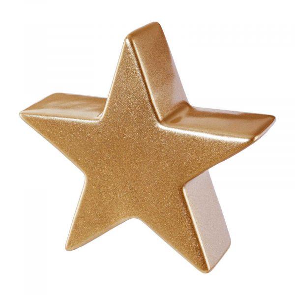 Stern Rotgold-Metallic Keramik16 cm Weihnachtsdeko bei Tischdeko-Shop.de