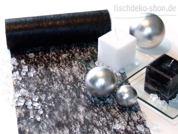 Vlies-Band Schwarz 23cm breit auf 20-m-Vorteilsrolle