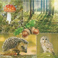 Serviette Forest nature 20er Pack