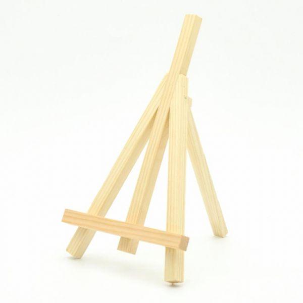 Staffelei 24x13.5cm Holz natur