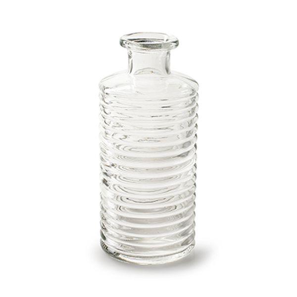 Glasvase Sue Klar Flaschenform bei Tischdeko-Shop.de