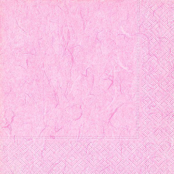 Serviette Pure Soft Pink / Rosa 33x33cm 20er Pack bei Tischdeko-Shop.de