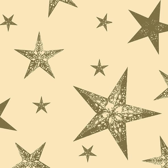 Serviette My Star Cream 40x40cm 12er Pack