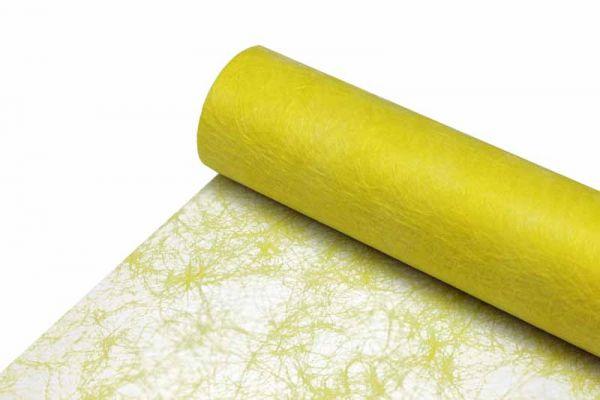 Sizoflor Tischband Zitronengelb 30cm x 25m-Vorteilsrolle