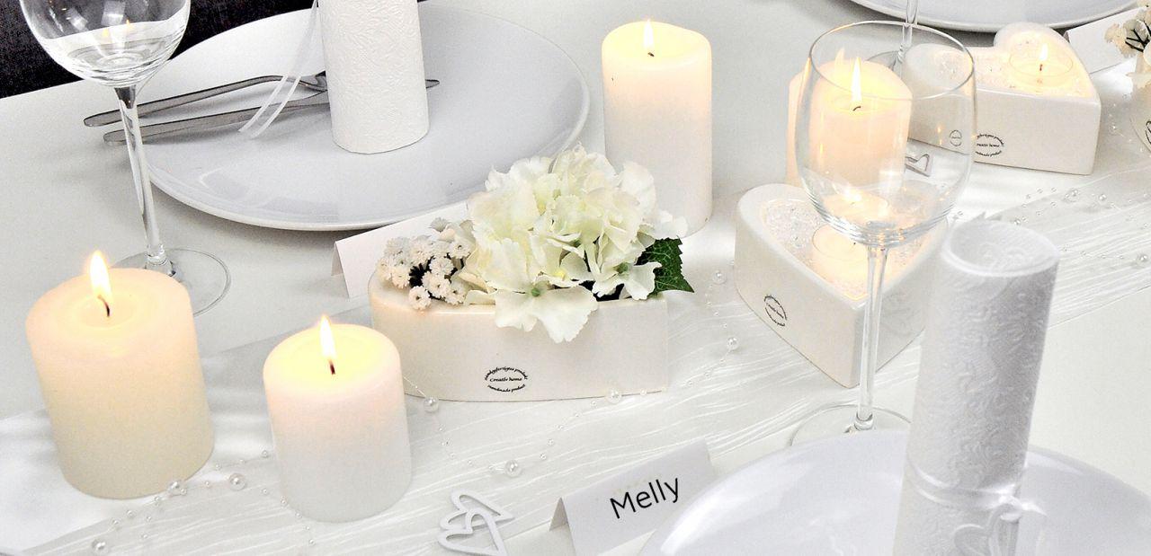 Tischdekoration Für Eine Unvergessliche Hochzeitsfeier