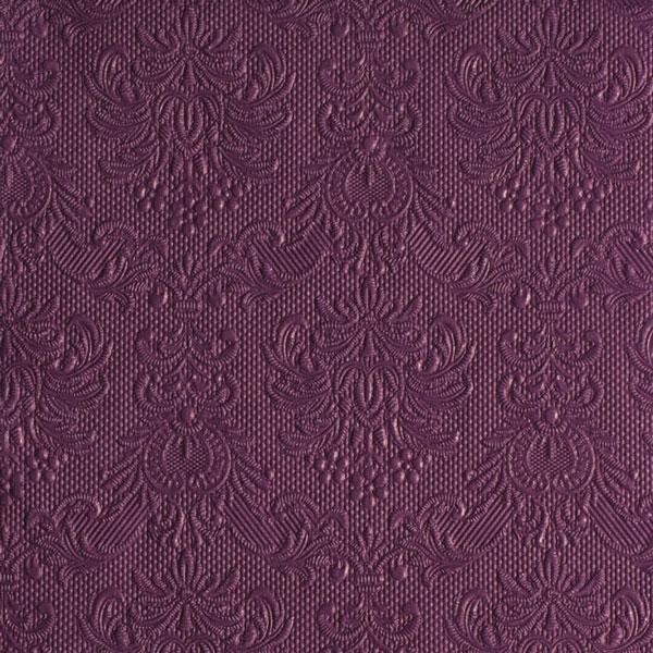Serviette elegance aubergine 40x40 cm bei tischdeko - Tischdeko aubergine ...