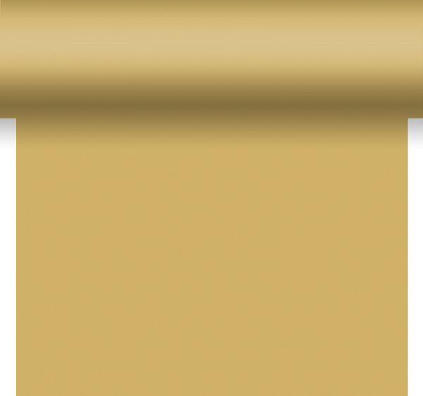 3-in-1 Tischläufer Tete a Tete Gold Dunisilk 0.40 x 4,80m bei Tischdeko-Shop.de