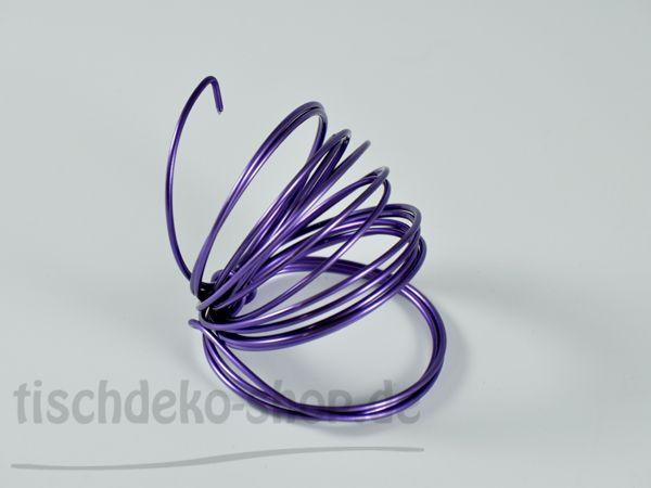 Aludraht-Ring Lavendel Ø 2mm 3 Meter