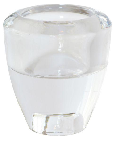 Kerzenhalter für Teelichter und Spitzkerzen Glas 6er Set