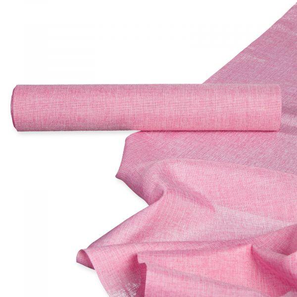 Tischband Meliert Pale Pink Breite 28cm 5 Meter Rolle Übersicht bei Tischdeko-Shop.de