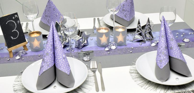 Silber Purple