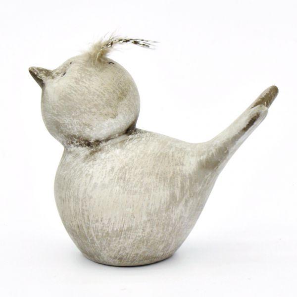 Deko-Vogel Furious aus Keramik 12,5cm  bei Tischdeko-Shop.de