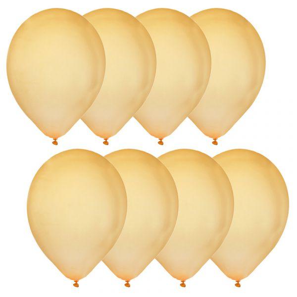 Luftballons Gold D 30cm 9 Stueck bei Tischdeko-Shop.de