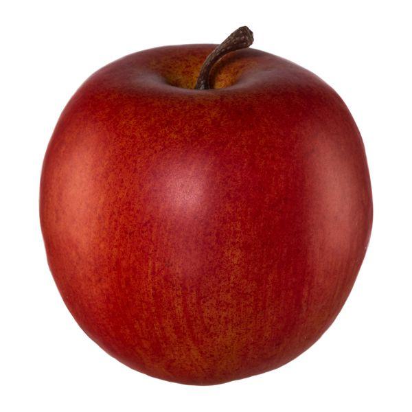 Deko-Apfel aus hochwertigem Kunstmaterial Rot 8cm