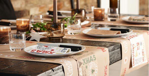 Tischdekoration Winter Craft Zu Weihnachten