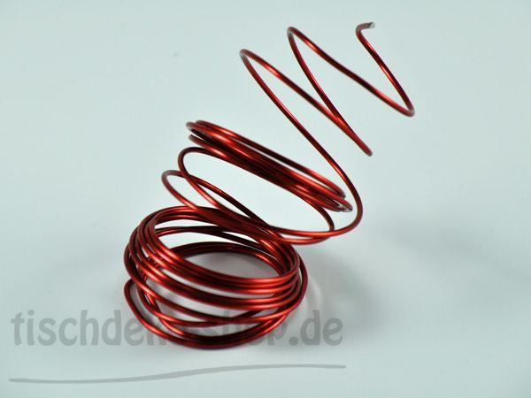 Aludraht-Ring Rot Ø 2mm 3 Meter