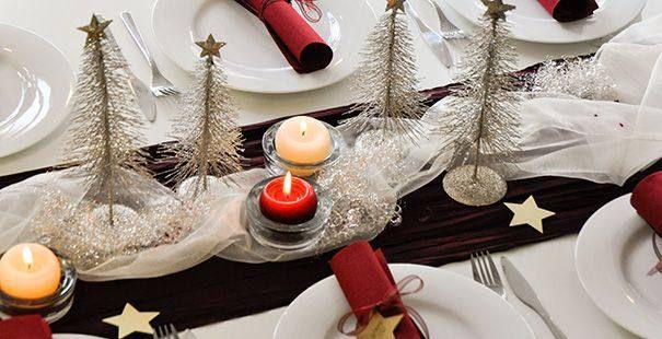 Tischdeko winter grün  Winter Tischdekoration kaufen bei Tischdeko-Shop