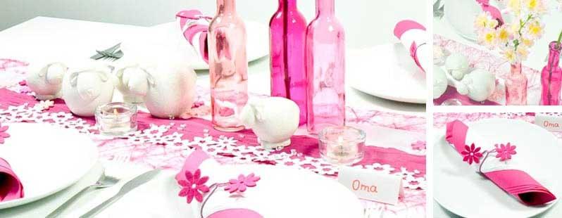 Dekoration Kindergeburtstag M Dchen Pink Gelb Rosa Raum