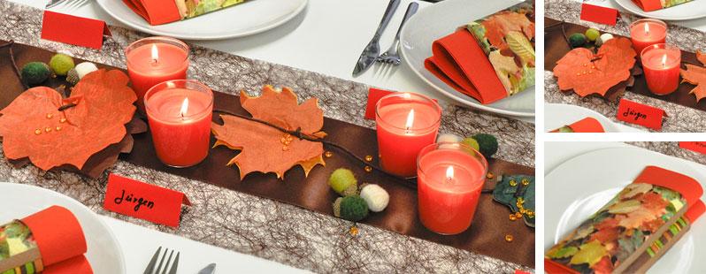 Herbstlaub online kaufen tischdeko for Tischdeko shop