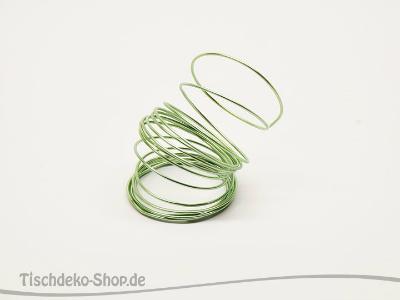Aludraht-Ring Mintgrün 2mm 3 Meter