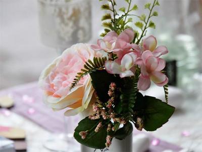 Rosenbouquet rosa 32cm