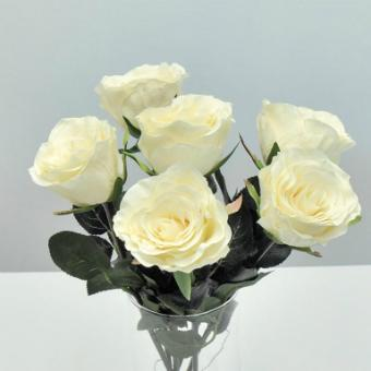 rosen-weiss-cream-42cm-6er-set-seidenblumen