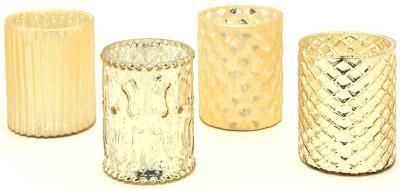 teelichthalter-deko-glaeser-gold-vintage