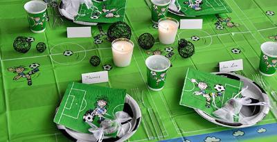 Fußball-Tischdeko Footballstar