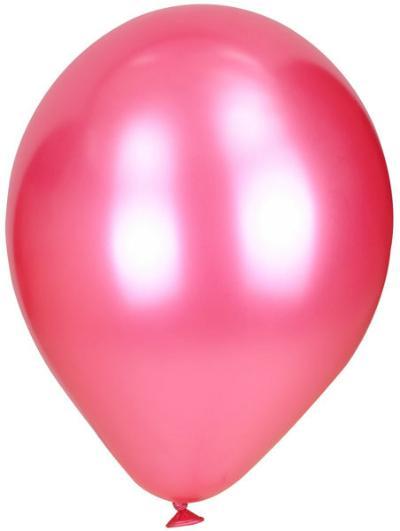 Luft-Ballons pink Metallic 50 Stück
