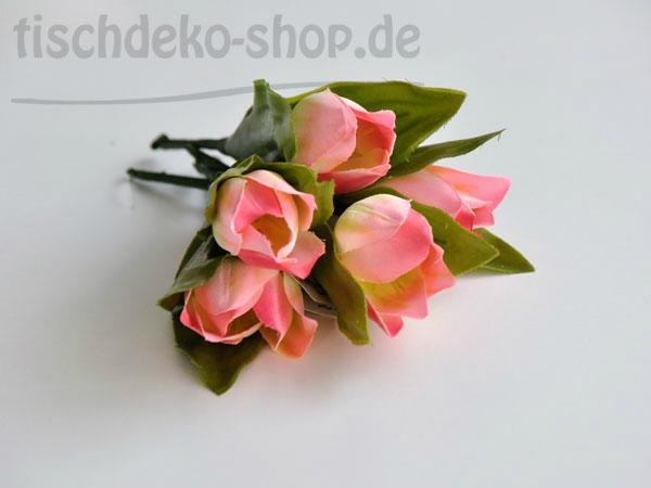 Tulpen 6er Set Pink 16 cm