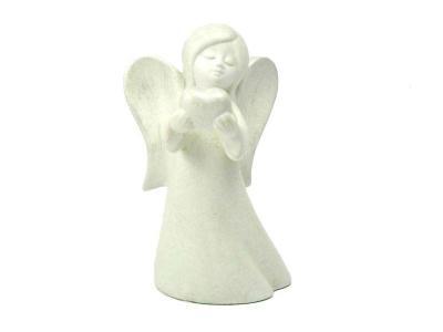 deko-engel-mit-herz-cremeweiss-silber-gewischt-keramik-14cm