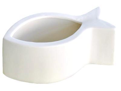 pflanztopf-schale-fisch-porzellan-weiss-glaenzend-15cm-2er-set