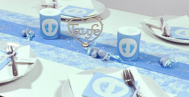 Taufdeko Fur Den Tisch Tischdeko Magazin