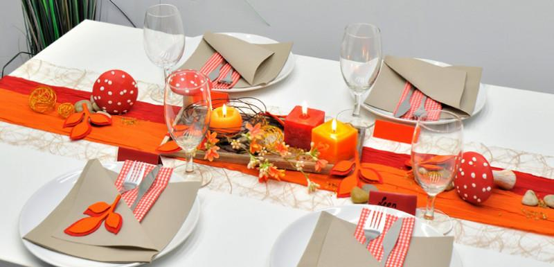 Herbstdeko Fur Den Tisch Tischdeko Magazin