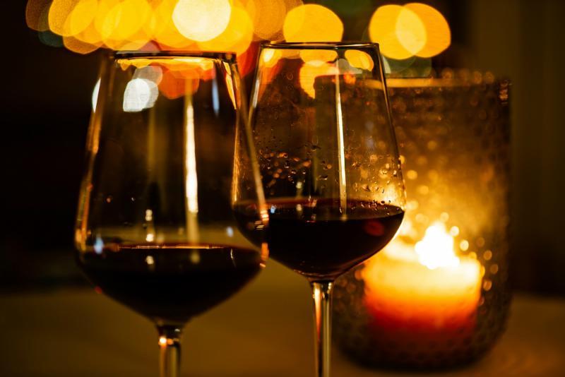 Dark Romance Dinner an Halloween