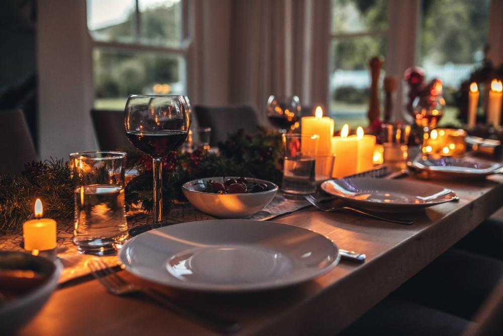 Tischdeko Mit Kerzen Tischdeko Magazin