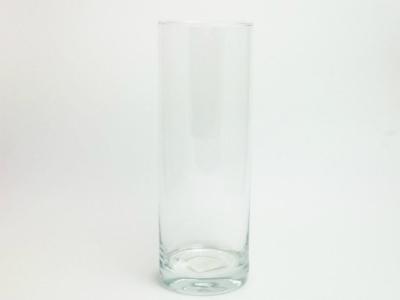 Vase Glas Zylinder D 10cm H 30cm