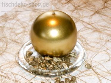 kugelkerze-gold