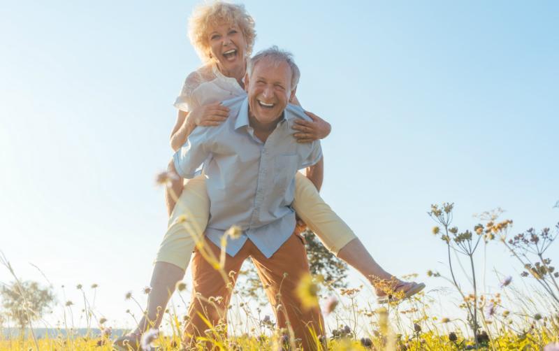 mit dem 60. Geburtstag beginnt ein neuer Lebensabschnitt