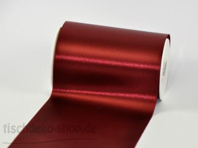 Satinband Tischband Bordeaux 15cm