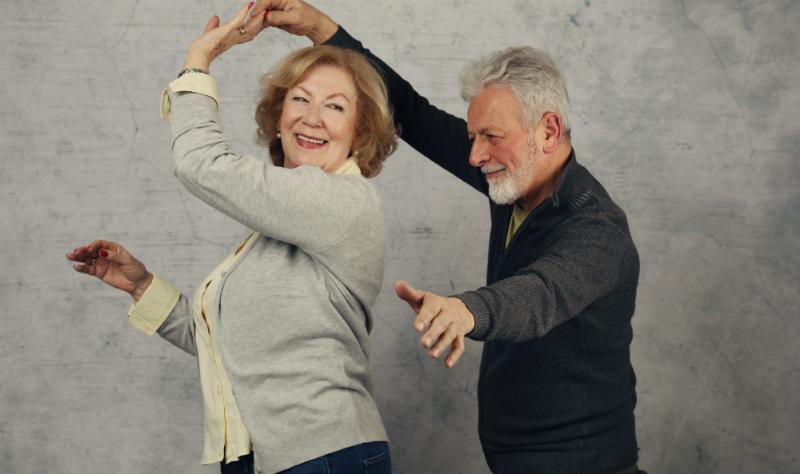 Tanzen auf dem 60. Geburtstag
