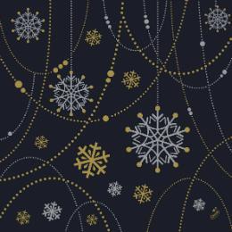 serviette-snowflake-necklace-black-33x33cm-50er-pack-weihnachten